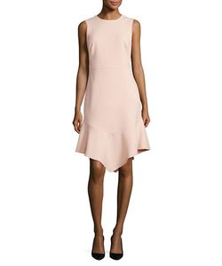DKNY | Asymmetrical Hem Sheath Dress
