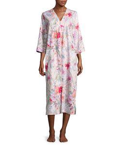 Miss Elaine | Print Sateen Robe