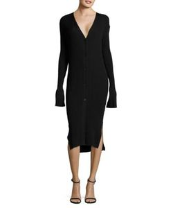 DKNY | Ribbed Cardigan Dress