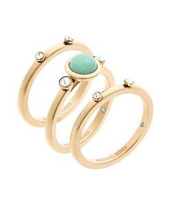Michael Kors   Easy Opulence Mountain Jade Stack Ring Set