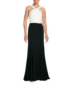Vera Wang | Ruched Empire Gown