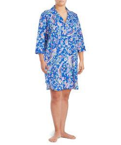 Lauren Ralph Lauren   Plus Size Pajama Nightgown