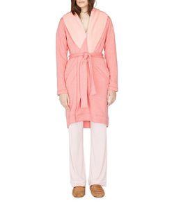 UGG | Heathered Fleece-Trimmed Robe