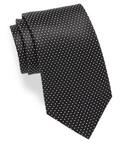 Hugo | Small Dotted Silk Tie