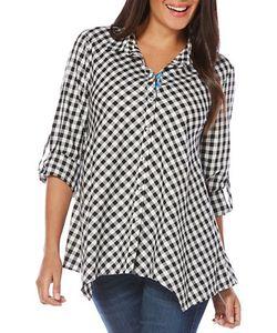 Rafaella | Gingham Printed Shirt