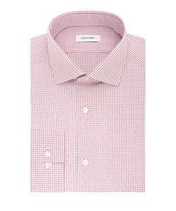 Calvin Klein | Cotton Checked Dress Shirt