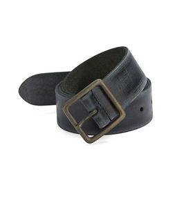 John Varvatos Star USA   Burnished Leather Belt