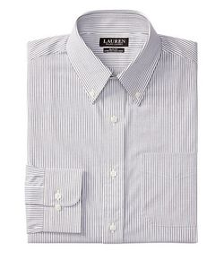 Lauren Ralph Lauren | Slim-Fit Tattersall Stretch Dress Shirt