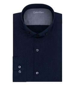 Calvin Klein | Slim Fit Neat Print Dress Shirt