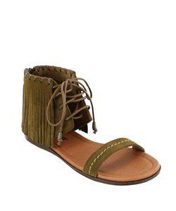 Minnetonka | Havana Suede Sandals