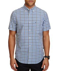 Nautica | Short-Sleeve Plaid Casual Shirt