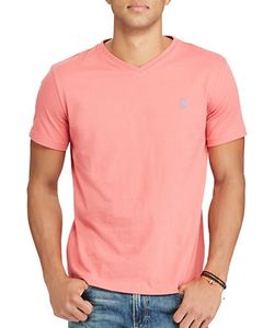Polo Big And Tall | Jersey V-Neck Tee
