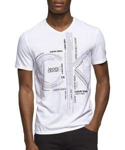 Calvin Klein Jeans | V-Neck Cotton Tee