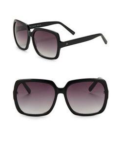 H Halston | 59mm Square Sunglasses