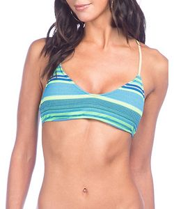 Polo Ralph Lauren | Playa Stripe Scoopneck Bikini Top