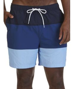 Nautica Big And Tall | Quick Dry Color Block Swim Trunks