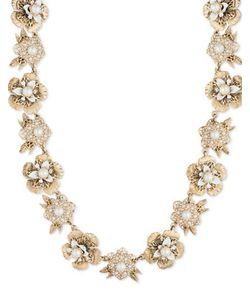 Marchesa | Faux Pearl And Austrian Crystal Necklace