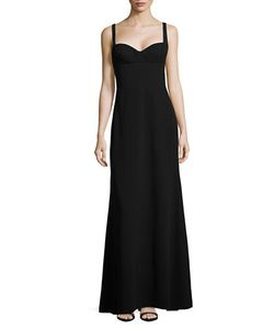 Vera Wang | Crepe A-Line Gown