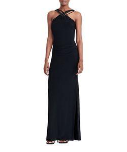 Lauren Ralph Lauren   Stretch-Jersey Gown