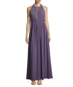 Vera Wang | Chiffon Halter Gown