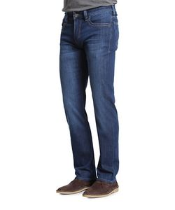 34 Heritage | Charisma Comfort-Rise Faded Jeans