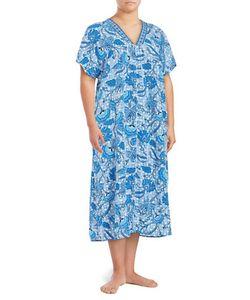 Miss Elaine   Mumu Duster Robe