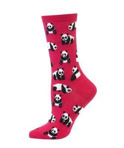 Hot Sox | Cotton-Blend Panda Socks