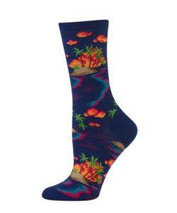 Hot Sox | Cotton-Blend Mid-Calf Socks