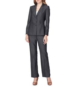 Tahari Arthur S. Levine | Three-Button Jacket And Pants Suit