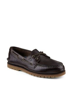 Sperry   Authentic Original Leather 2-Eye Mini Lug Boat Shoes