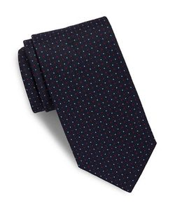 Brooks Brothers | Neat Dotted Silk Tie