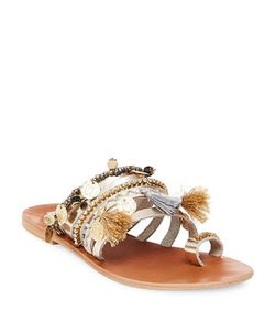 Steve Madden | Rippel Leather Toe Ring Sandals