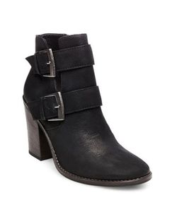 Steve Madden | Trevur Belted Leather Booties
