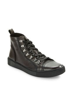 John Varvatos | Bedford Lace-Up Leather Boots
