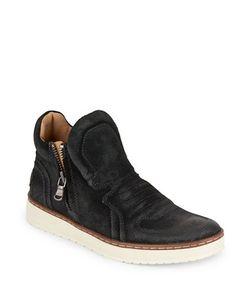 John Varvatos | Baret Leather Hi-Top Sneakers