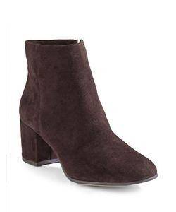 424 Fifth | Elyssa Suede Ankle Boots
