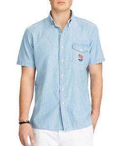 Polo Ralph Lauren   Standard-Fit Cotton Chambray Shirt