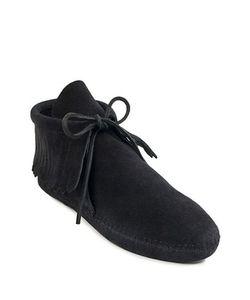 Minnetonka | Classic Fringe Suede Boots