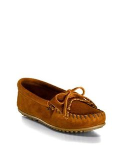 Minnetonka | Kilty Fringed Loafers