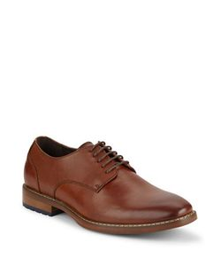 Black Brown | Robert Leather Derby Shoes