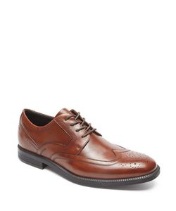 Rockport | Dressports Business Leather Wingtip Oxford Shoes