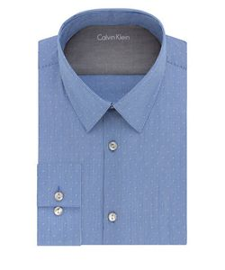 Calvin Klein | Striped Extreme Slim-Fit Cotton-Blend Dress Shirt