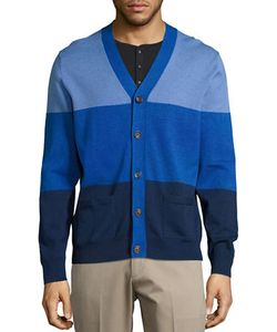 Brooks Brothers Red Fleece | Ribbed Colorblock Cardigan