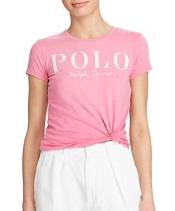 Polo Ralph Lauren | Appliqued Crewneck Cotton Tee