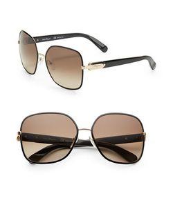 Salvatore Ferragamo | 59mm Square Sunglasses