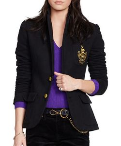 Polo Ralph Lauren | Custom-Fit Two-Button Fleece Blazer