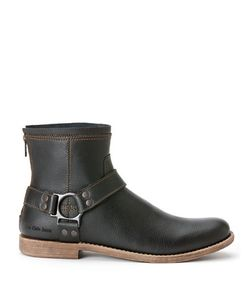 Calvin Klein | Palmer Leather Harness Boots