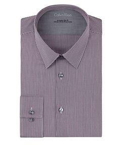 Calvin Klein | Extreme Slim Fit Micro Check Dress Shirt