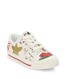 Marc Jacobs | Christy Embellished Canvas Sneakers