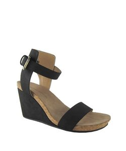 Adrienne Vittadini | Ted Suede Wedge Sandals
